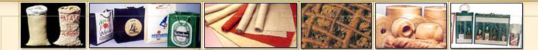 Jute Bags, Burlap Bags, Burlap Rolls, Jute Yarn, Jute Tapes, Jute Sandbags, Jute Geotextile